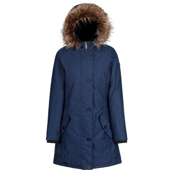 Dámský zimní kabát Regatta SAFFIRA tmavě modrá
