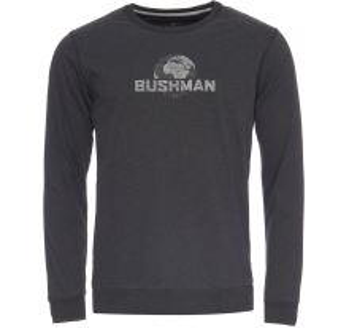 Pánské tričko BUSHMAN GREELEY černá