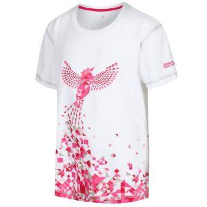 Dětské funkční tričko Regatta ALVARADO IV bílá