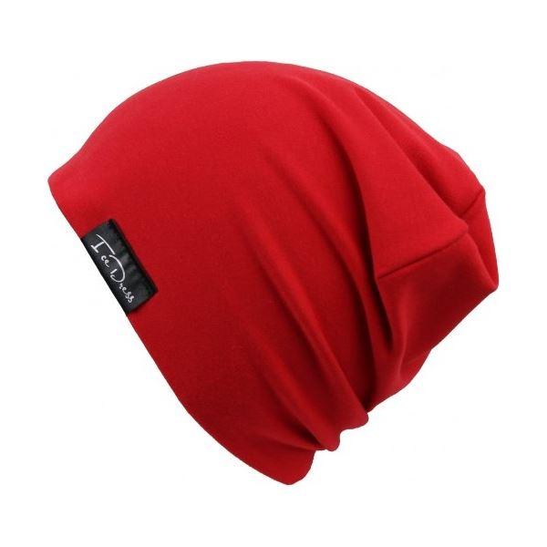 Dětská bavlněná čepice IceDress RED červená