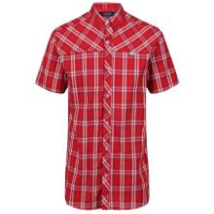 Pánská košile Regatta HONSHU IV červená