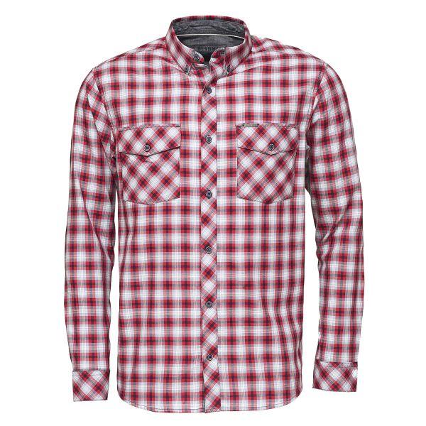 Pánská košile BUSHMAN GRESHAM červená