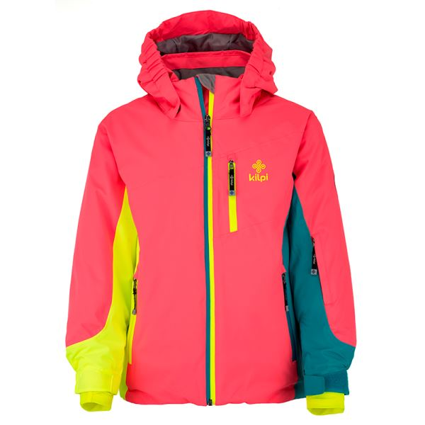 Dětská zimní bunda KILPI SAWA-JG růžová