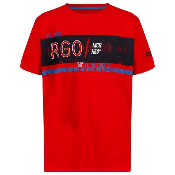 Dětské tričko Regatta BOSLEY II červená