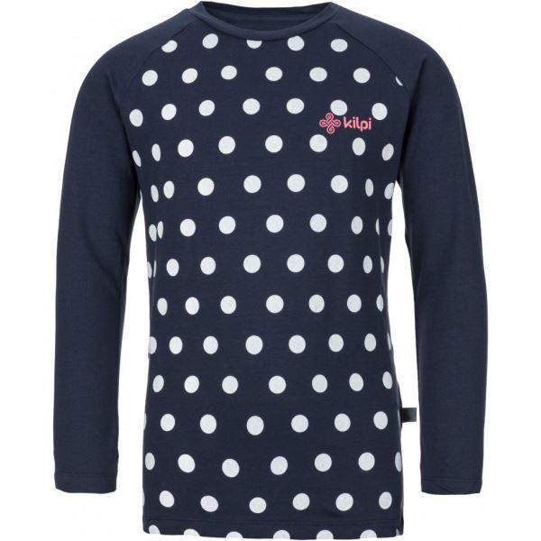 Dětské tričko KILPI VANILA-JG tmavě modrá