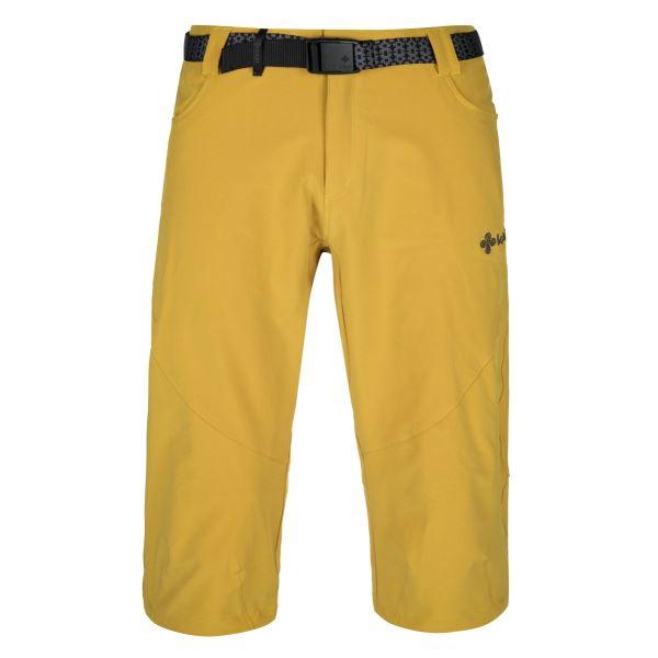 Pánské 3/4 kalhoty KILPI OTARA-M žlutá (nadměrná velikost)