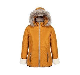 Dámská zimní bunda Regatta WHITLEY zlatá