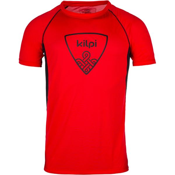 Pánské tričko KILPI LITYS-M červená (kolekce 2018)