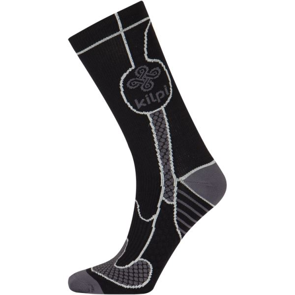 Unisex univerzální ponožky KILPI LEVI černá