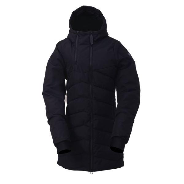 Dámský zateplený kabát 2117 ELLANDA černá