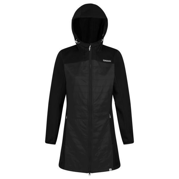 Dámský softshellový kabát Regatta HAWNBY černá