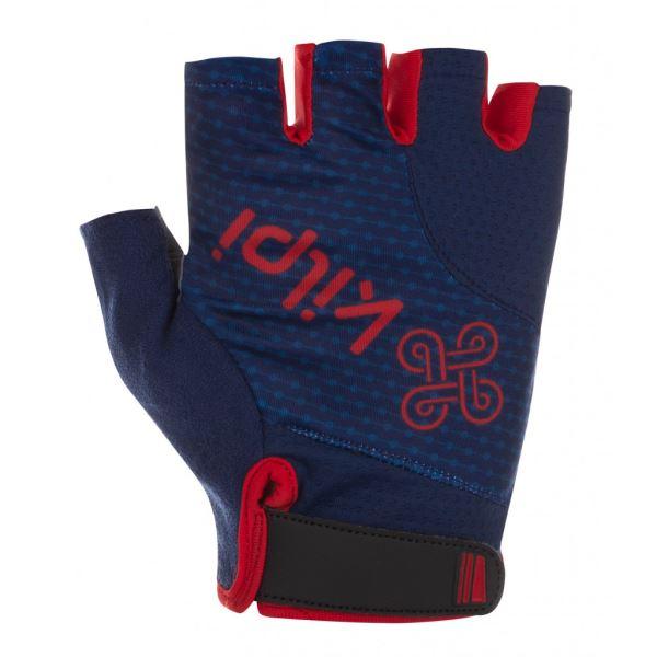 Unisex cyklistické rukavice KILPI GELENI-U tmavě modrá