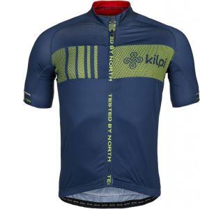 Pánský cyklistický dres KILPI CHASER-M tmavě modrá