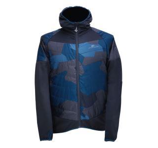 Pánská bunda 2117 BLIXBO šedá/modrá