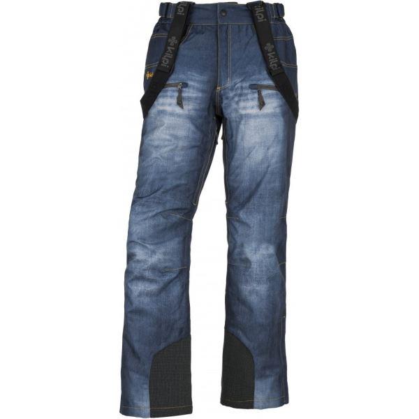 Pánské lyžařské kalhoty KILPI DENIMO-M modrá