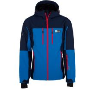 Pánská softshellová lyžařská bunda KILPI VANUATU-M modrá