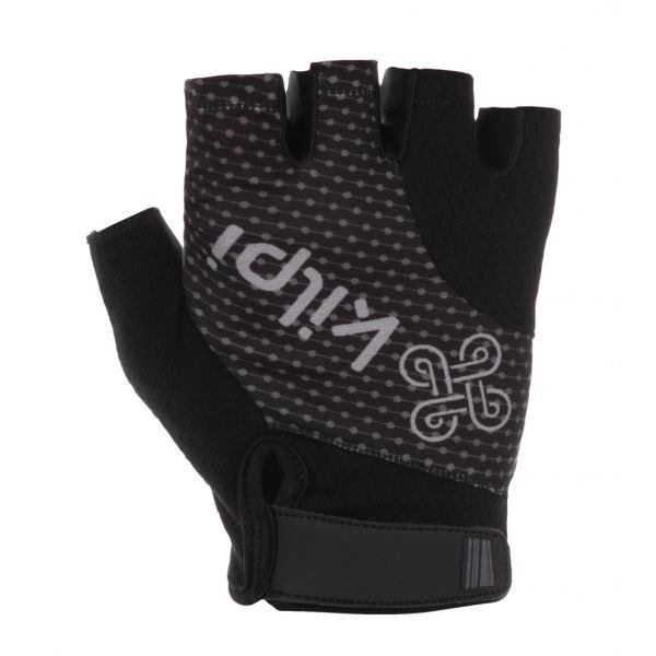 Unisex cyklistické rukavice KILPI GELENI-U černá