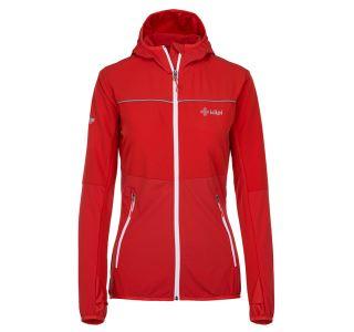 Dámská outdoorová bunda KILPI JOSHUA-W červená (kolekce 2019)