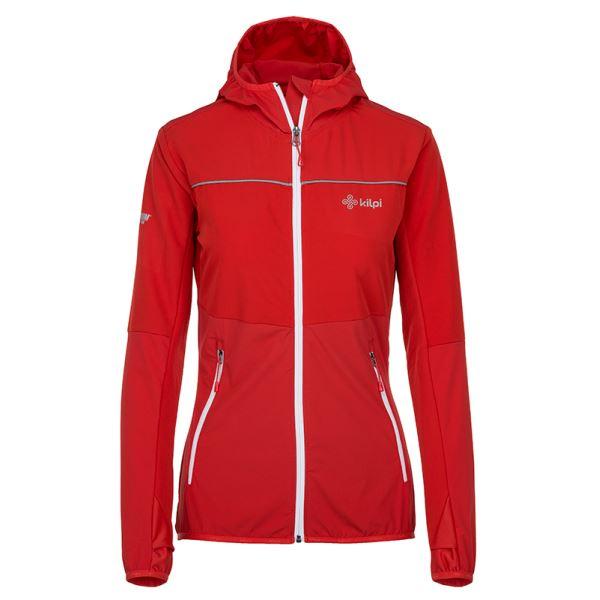 Dámská outdoorová bunda KILPI JOSHUA-W červená