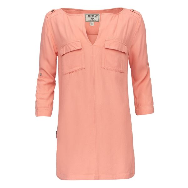 Dámská košile BUSHMAN BEATRICE oranžová