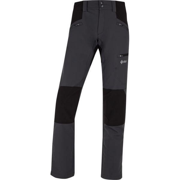 Dámské outdoorové kalhoty KILPI TIDE-W tmavě šedá