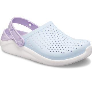 Dětské boty Crocs LiteRide Clog K modrá/bílá