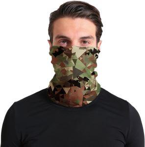Unisex multifunkční šátek/nákrčník maskáč S67