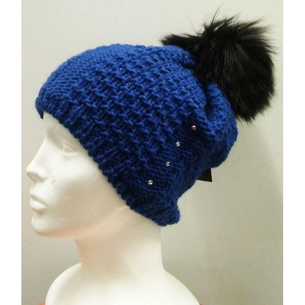 Dámská zimní čepice CAPU 381 modrá