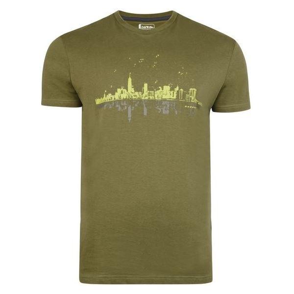 Pánské tričko Dare2b CITYSCAPE Tee zelená