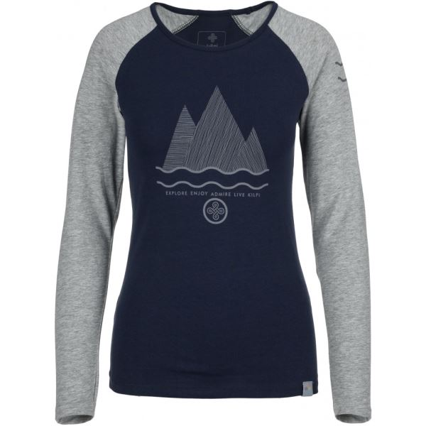 Dámské tričko KILPI SKIP-W tmavě modrá