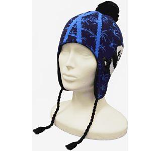 Dětská zimní čepice CAPU 4471 tmavě modrá
