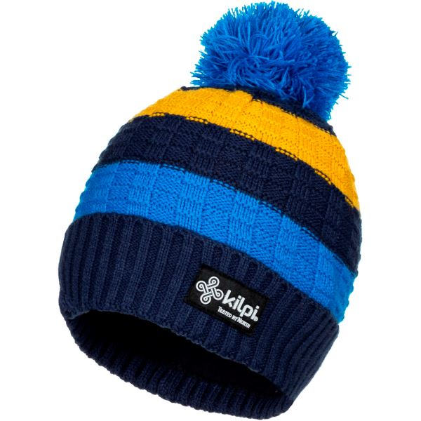 Pánská zimní čepice KILPI CURTIS-M tmavě modrá (kolekce 2019)