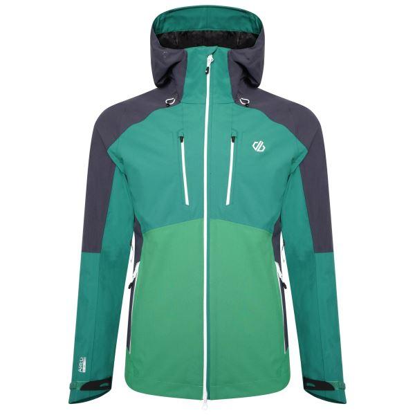 Pánská bunda Dare2b SOARING zelená/šedá