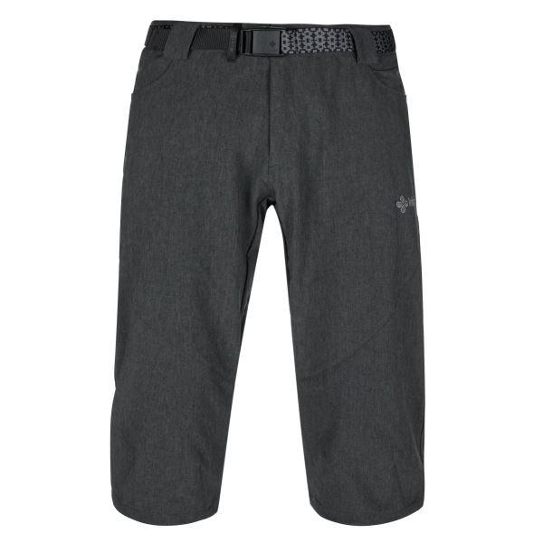 Pánské 3/4 kalhoty KILPI OTARA-M tmavě šedá (nadměrná velikost)