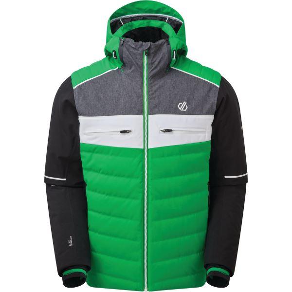 Pánská zimní bunda Dare2b CIPHER zelená/černá