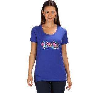 Dámské tričko Regatta FILANDRA III modrá clematis