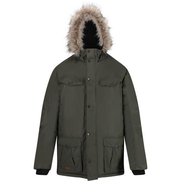 Pánská zimní bunda Regatta ADAIR zelená