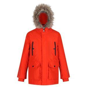 Dětská zimní bunda Regatta PROKTOR Parka oranžová