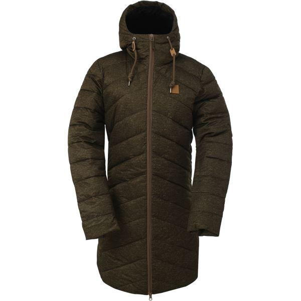 Dámský zimní kabát 2117 HINDAS zelená