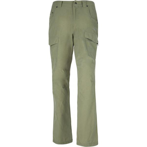 Pánské kalhoty KILPI TRAVELLER-M khaki