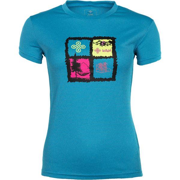 Dámské tričko KILPI GIACINTO-W modrá