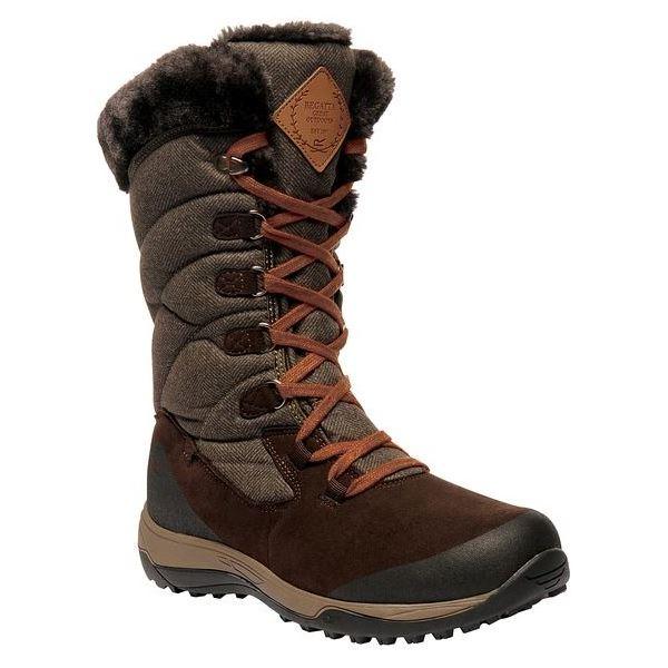 Dámské zimní boty Regatta NEWLEY hnědá