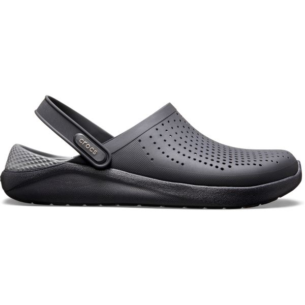 Unisex boty Crocs LiteRide Clog Slate černá/šedá