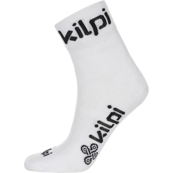 Unisex ponožky KILPI REFTON-U bílá