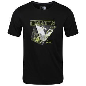 Pánské tričko Regatta FINGAL V černá