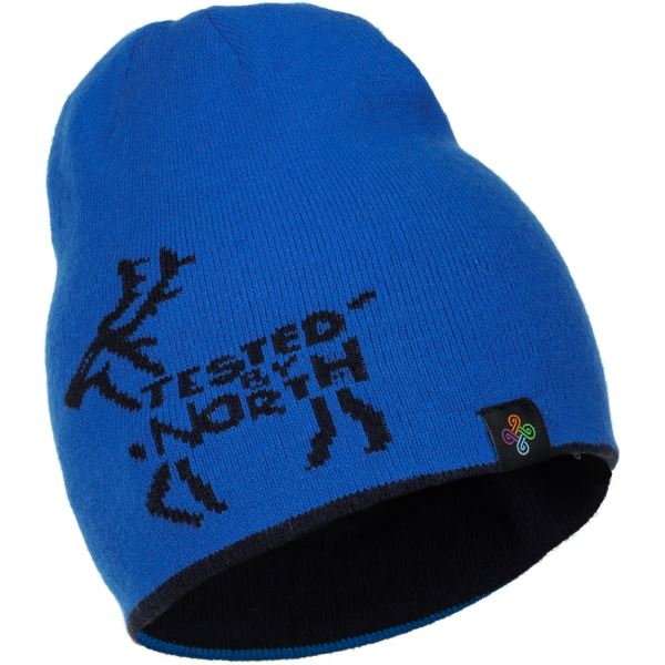 Dětská zimní oboustranná čepice KILPI HAMER-J tmavě modrá