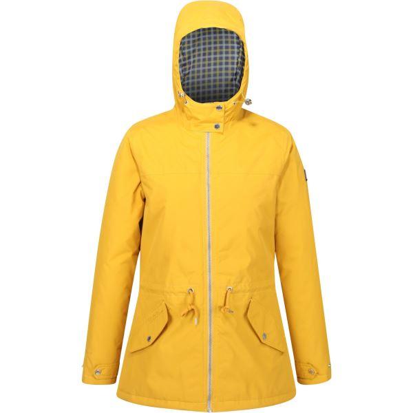Dámský kabát Regatta BRIGID žlutá