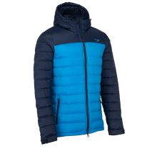 Pánská lehká péřová bunda KILPI SVALBARD-M modrá