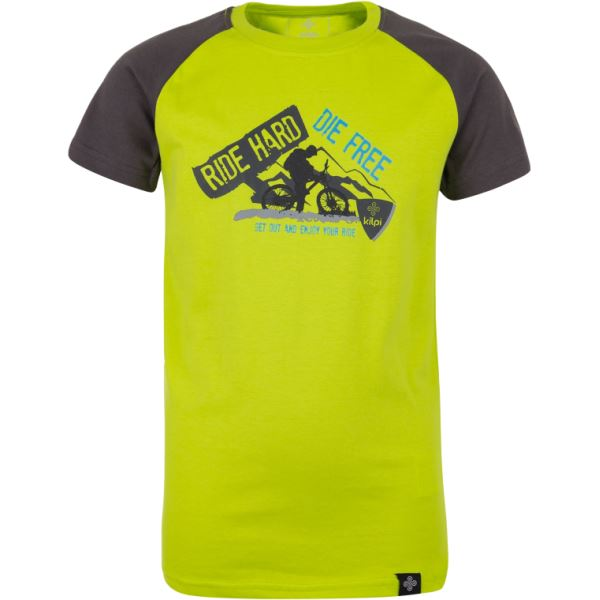 Dětské tričko KILPI BIKER-JB světle zelená