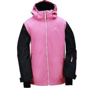 Dětská zimní lyžařská bunda 2117 TÄLLBERG korálově růžová